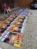 Plakate kleben
